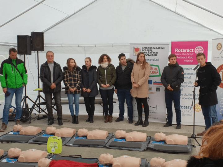 AED na pobudo RAC tudi na Graški Gori